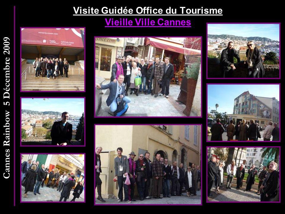 Visite Guidée Office du Tourisme Vieille Ville Cannes