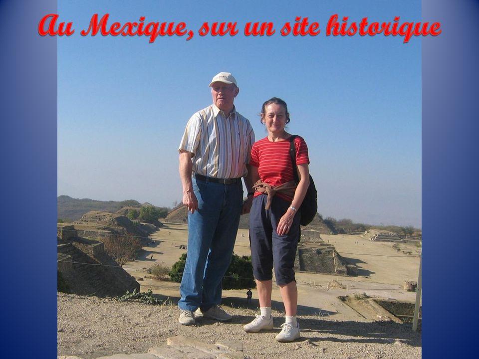 Au Mexique, sur un site historique