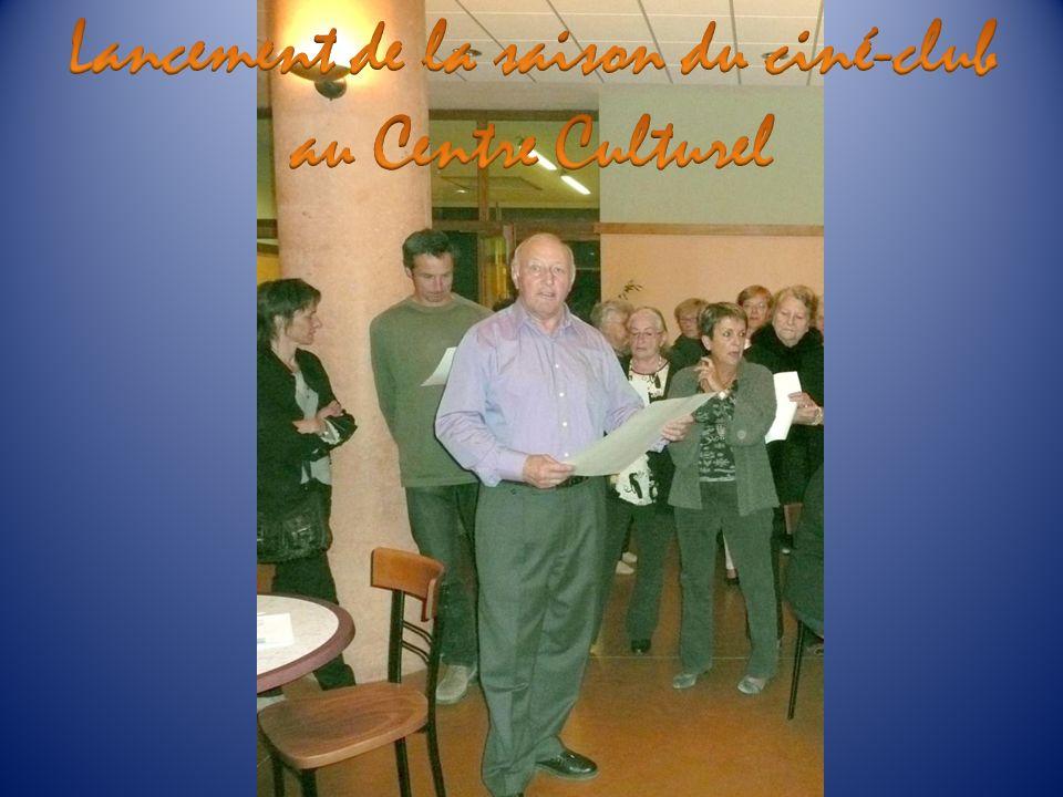 Lancement de la saison du ciné-club au Centre Culturel
