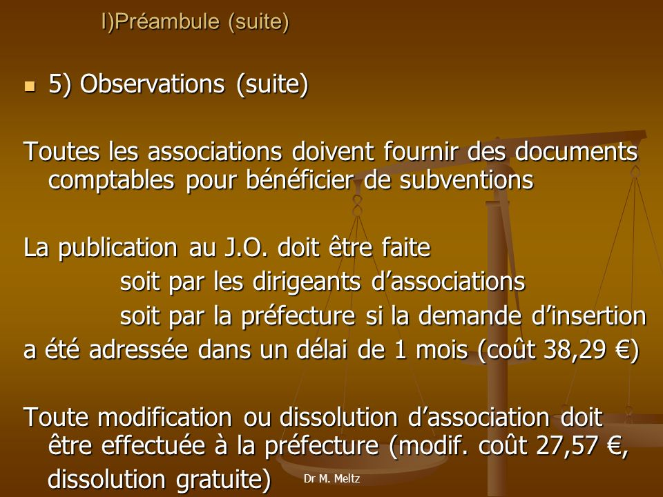 5) Observations (suite)