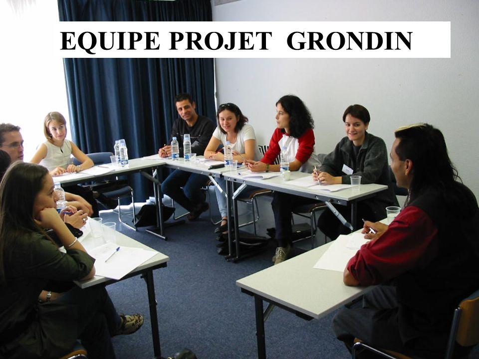 EQUIPE PROJET GRONDIN