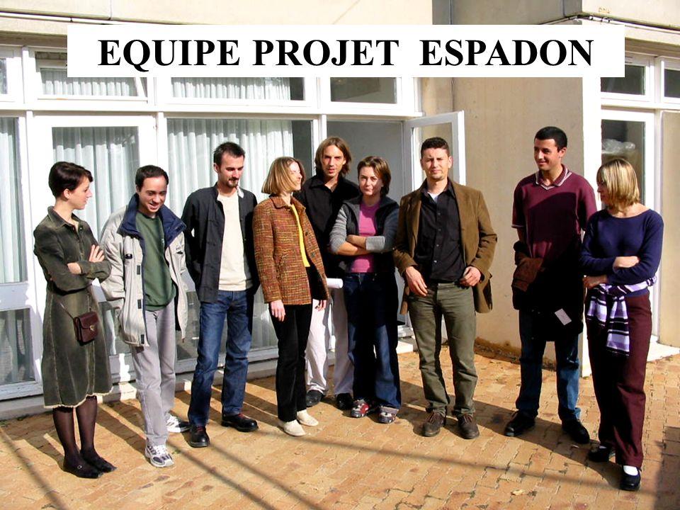 EQUIPE PROJET ESPADON