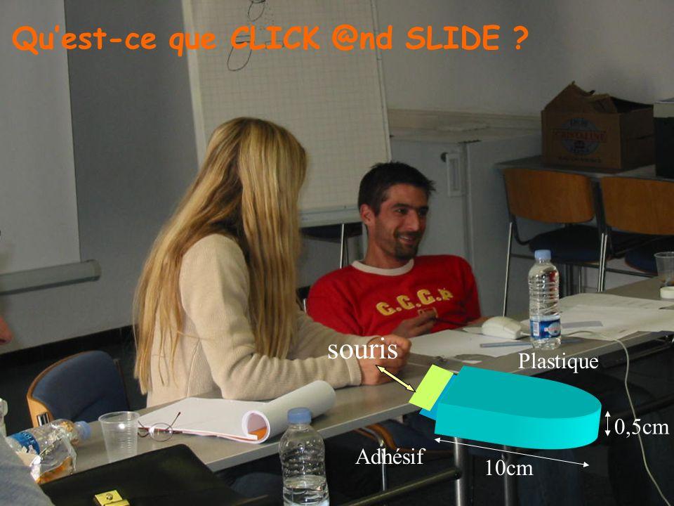 Qu'est-ce que CLICK @nd SLIDE