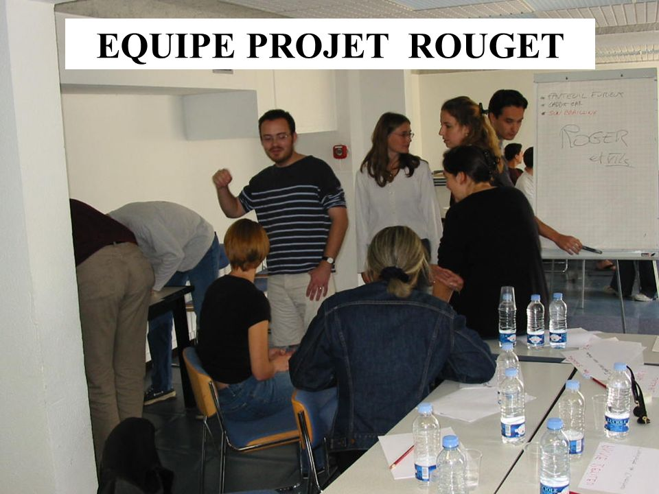EQUIPE PROJET ROUGET