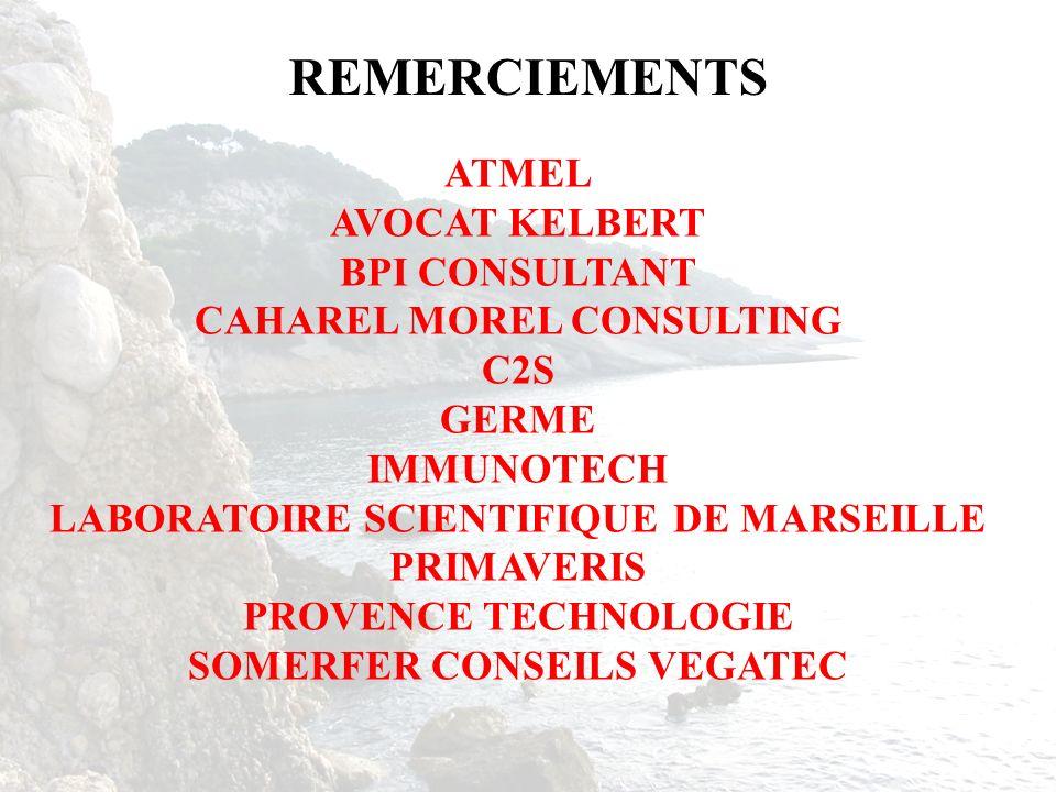 REMERCIEMENTS ATMEL AVOCAT KELBERT BPI CONSULTANT