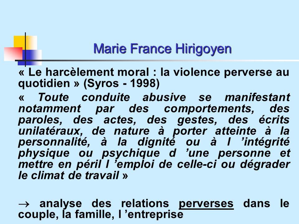 Marie France Hirigoyen