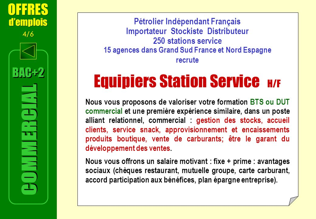 Equipiers Station Service H/F