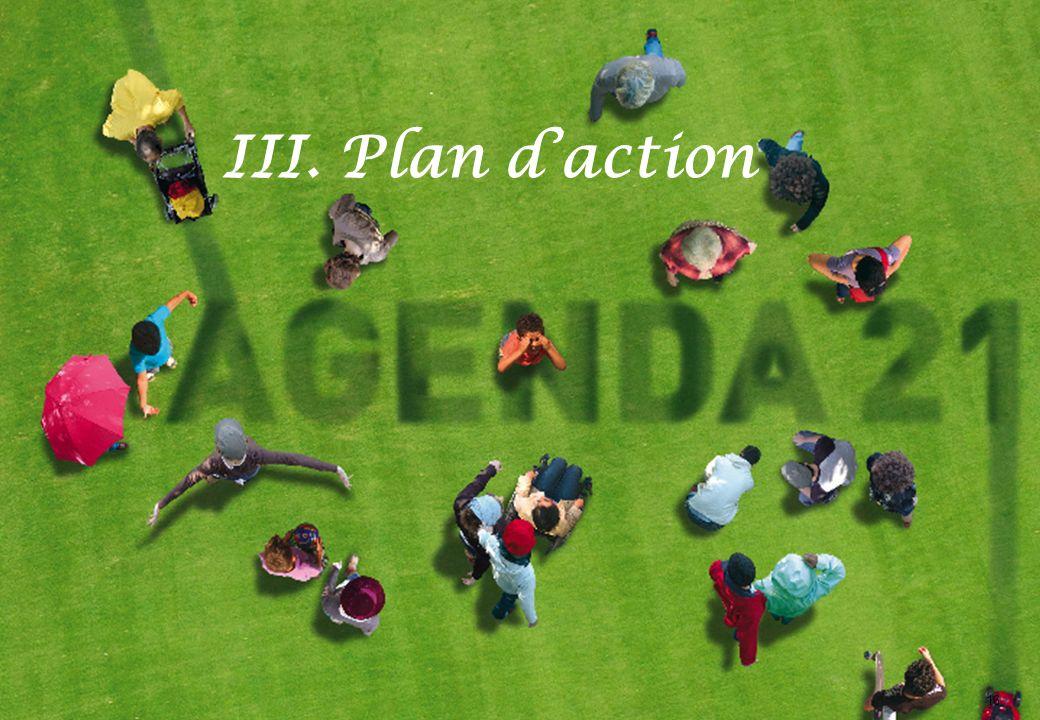 III. Plan d'action