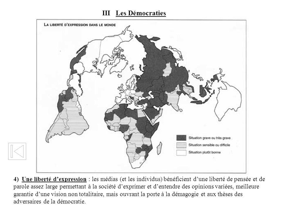 III Les Démocraties