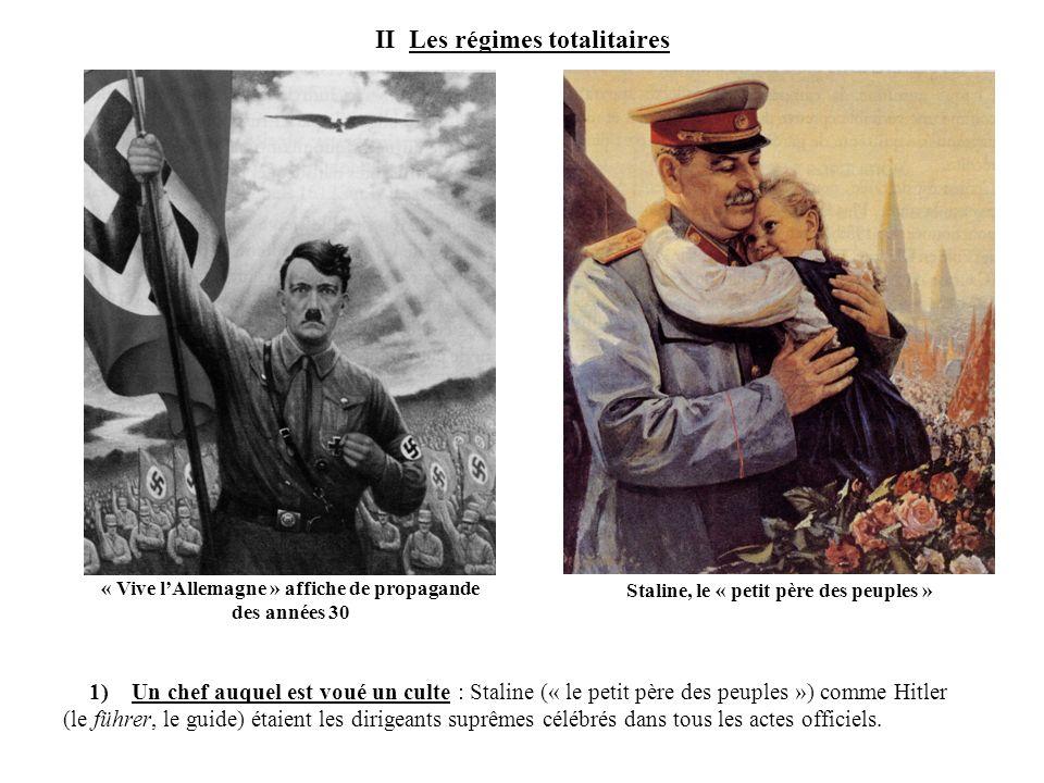 II Les régimes totalitaires