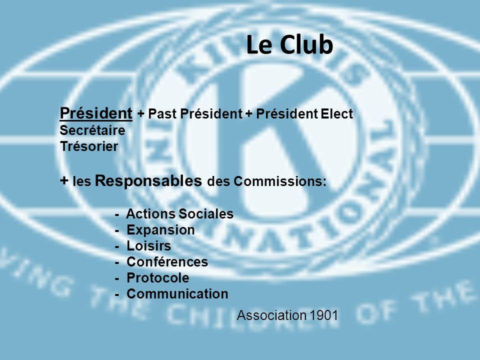 Le Club Président + Past Président + Président Elect