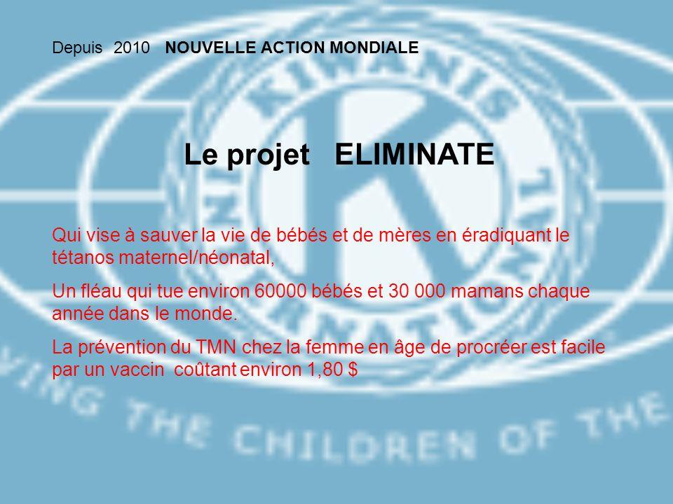Depuis 2010 NOUVELLE ACTION MONDIALE