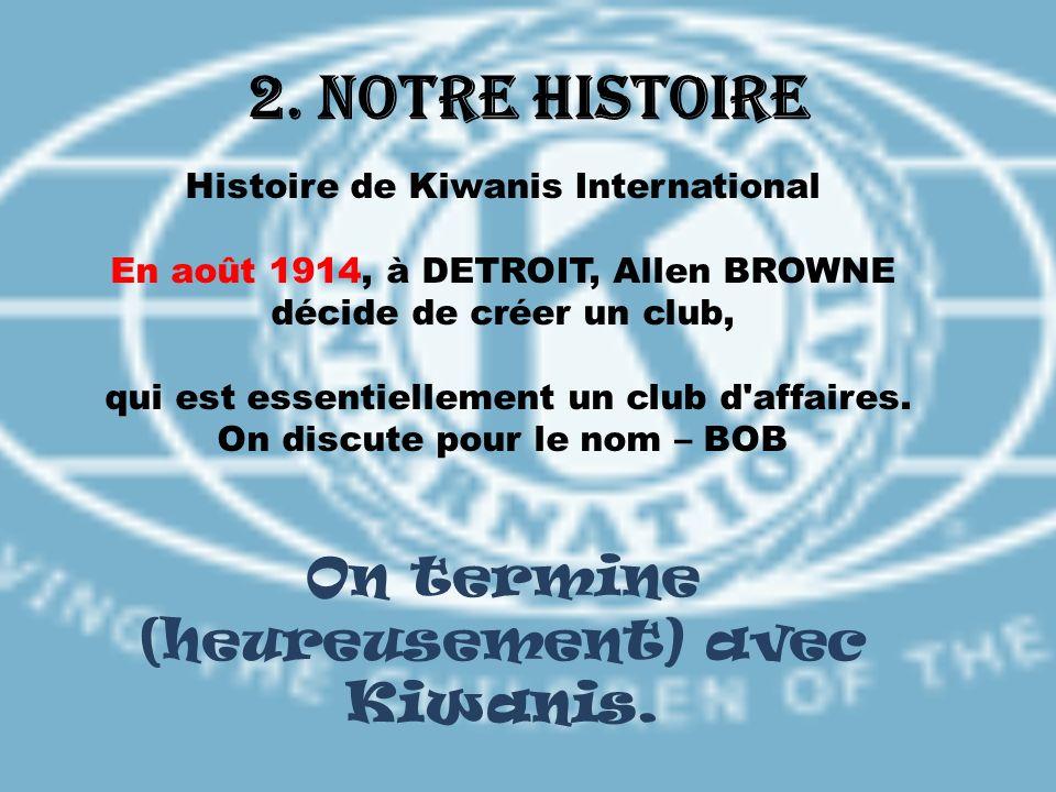 Histoire de Kiwanis International