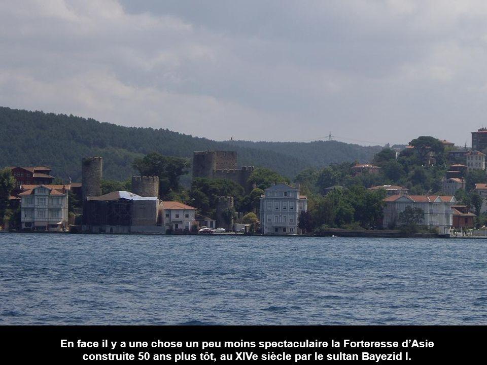 construite 50 ans plus tôt, au XIVe siècle par le sultan Bayezid I.