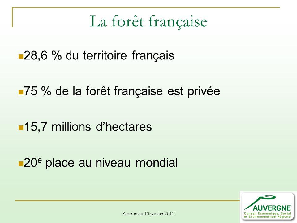 La forêt française 28,6 % du territoire français