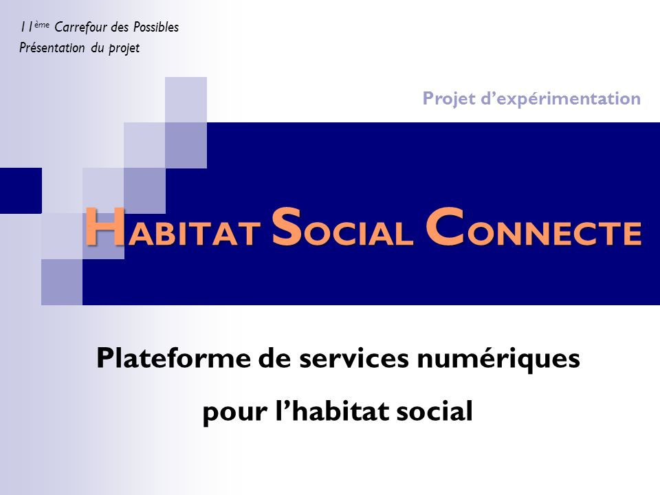 HABITAT SOCIAL CONNECTE