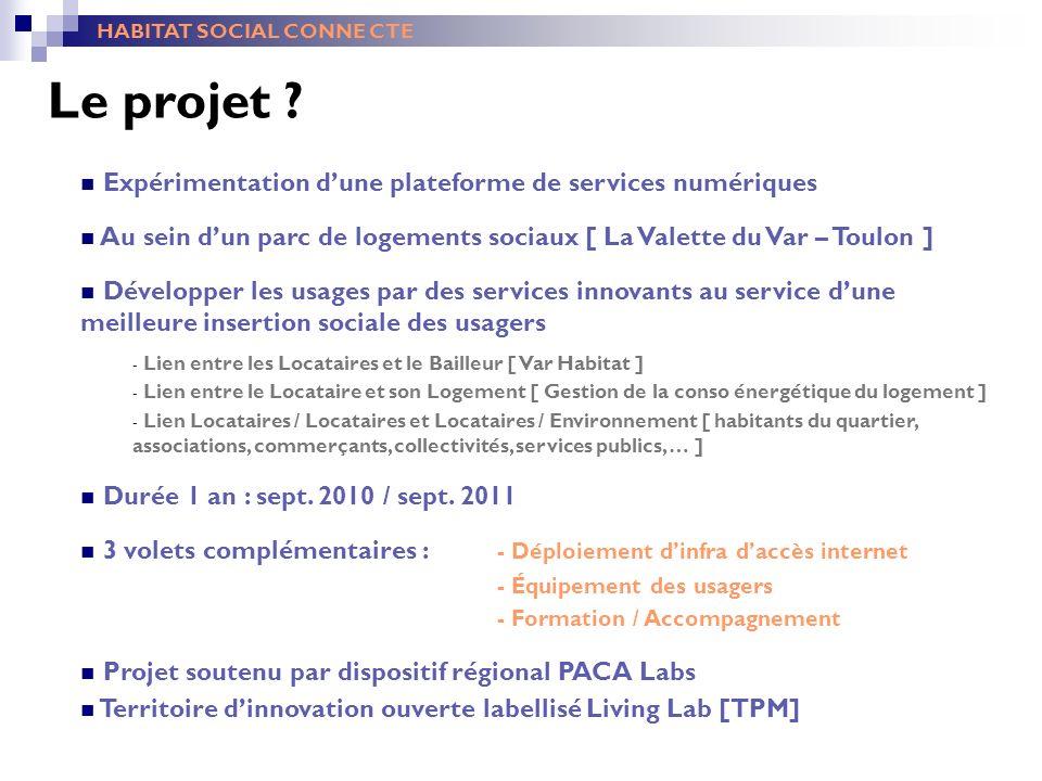 Le projet Expérimentation d'une plateforme de services numériques