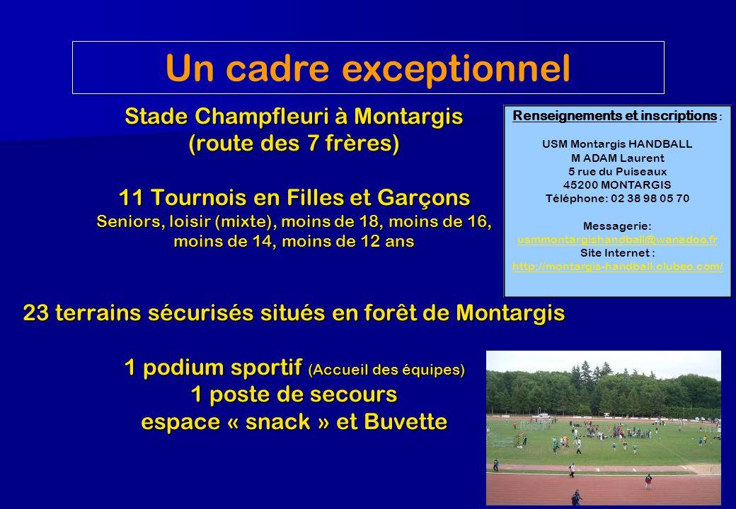 Un cadre exceptionnel Stade Champfleuri à Montargis