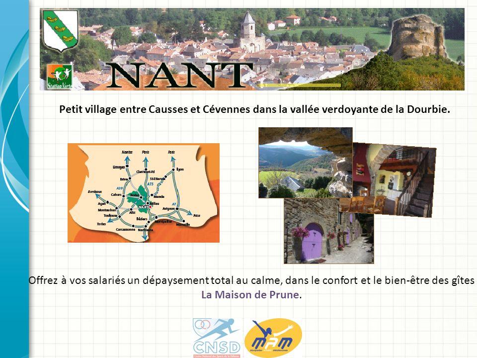 Petit village entre Causses et Cévennes dans la vallée verdoyante de la Dourbie.