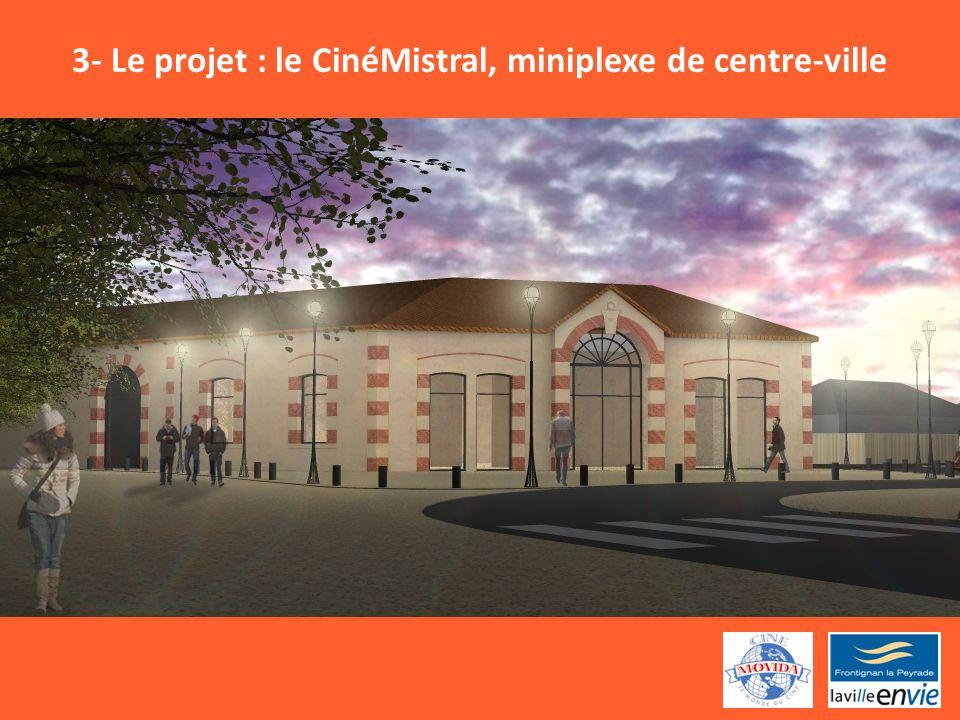 3- Le projet : le CinéMistral, miniplexe de centre-ville