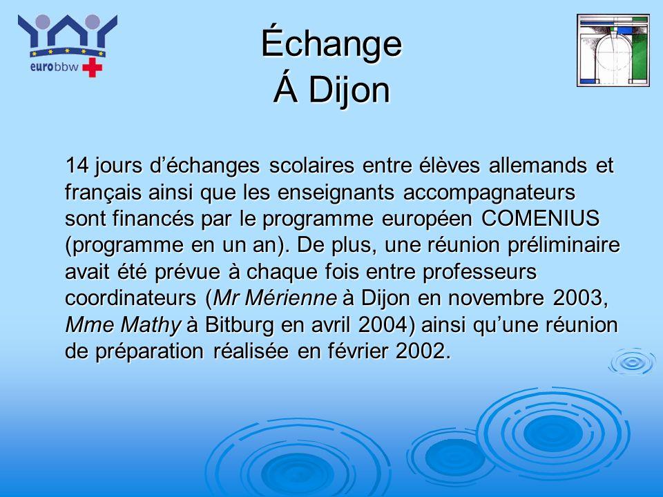 Échange Á Dijon