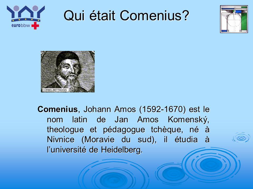 Qui était Comenius