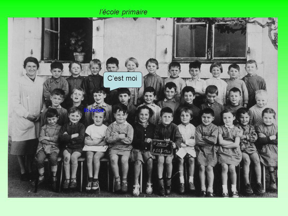 l'école primaire 1962 1960 1965 1964 1961 1963 Mon école C'est moi