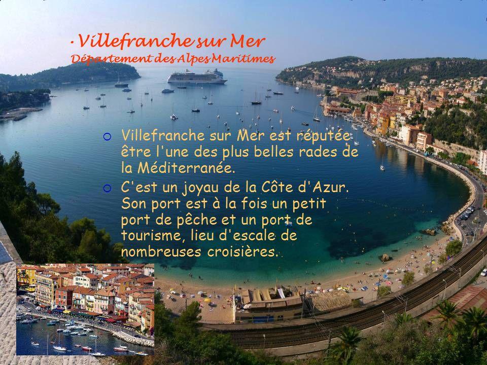 Villefranche sur Mer Département des Alpes Maritimes