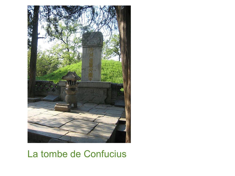 La tombe de Confucius