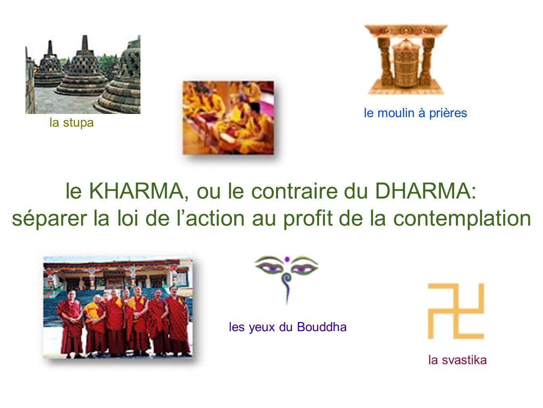 le KHARMA, ou le contraire du DHARMA: