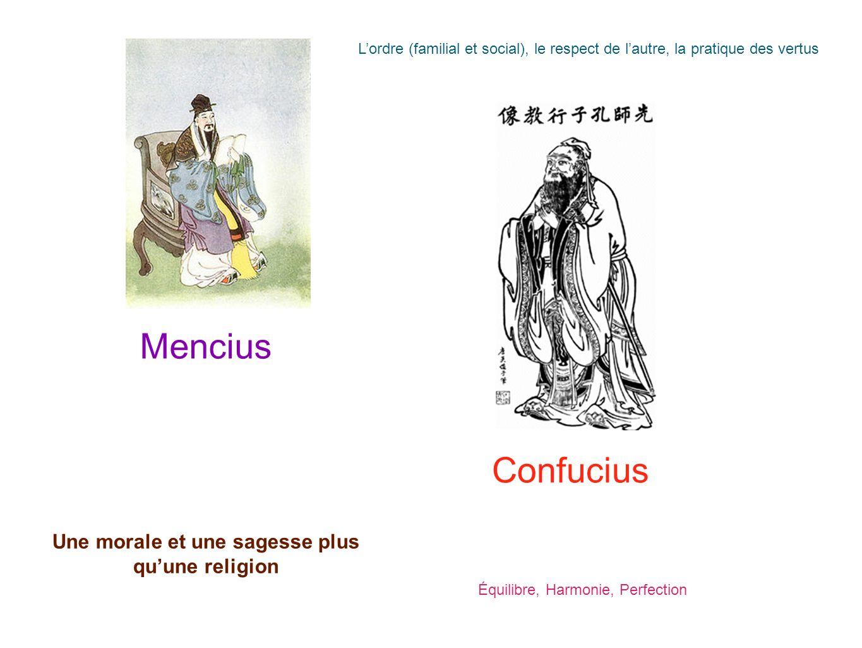 Une morale et une sagesse plus qu'une religion