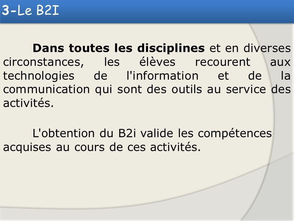 3-Le B2I