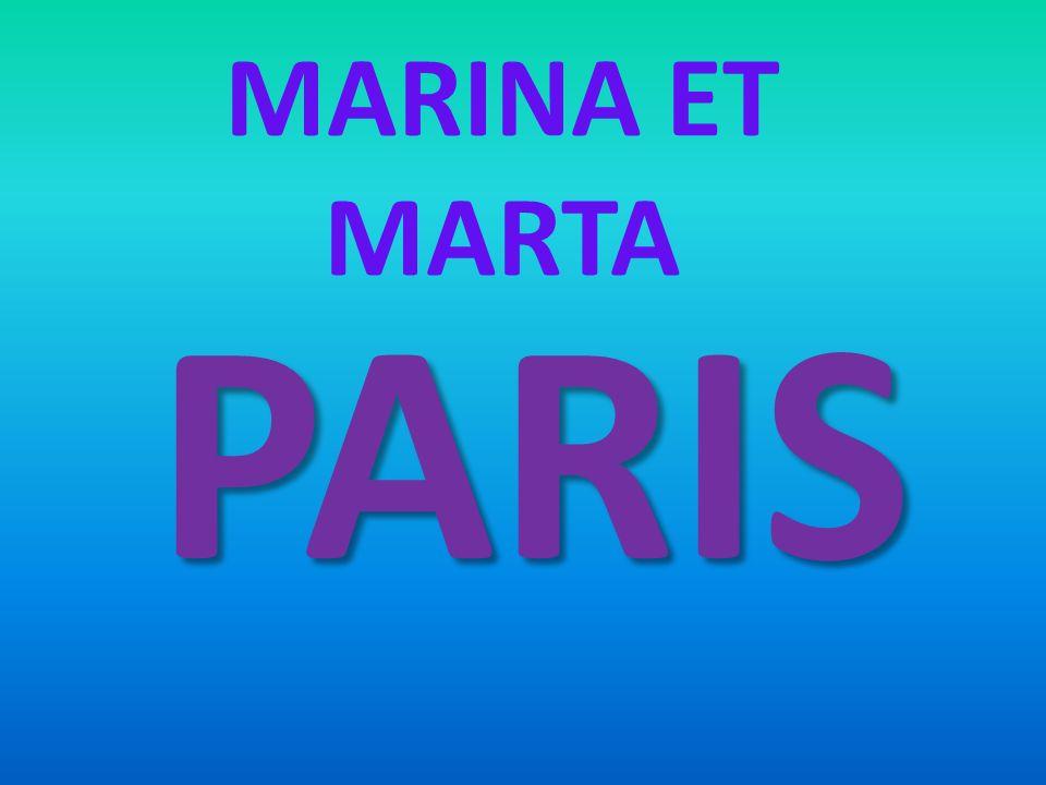 MARINA ET MARTA PARIS