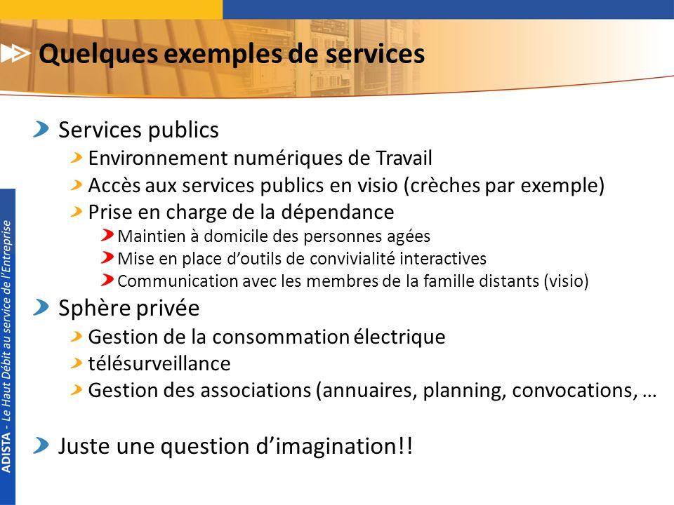 Quelques exemples de services