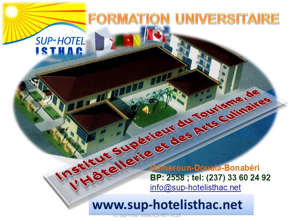 Institut Supérieur du Tourisme, de l'Hôtellerie et des Arts Culinaires
