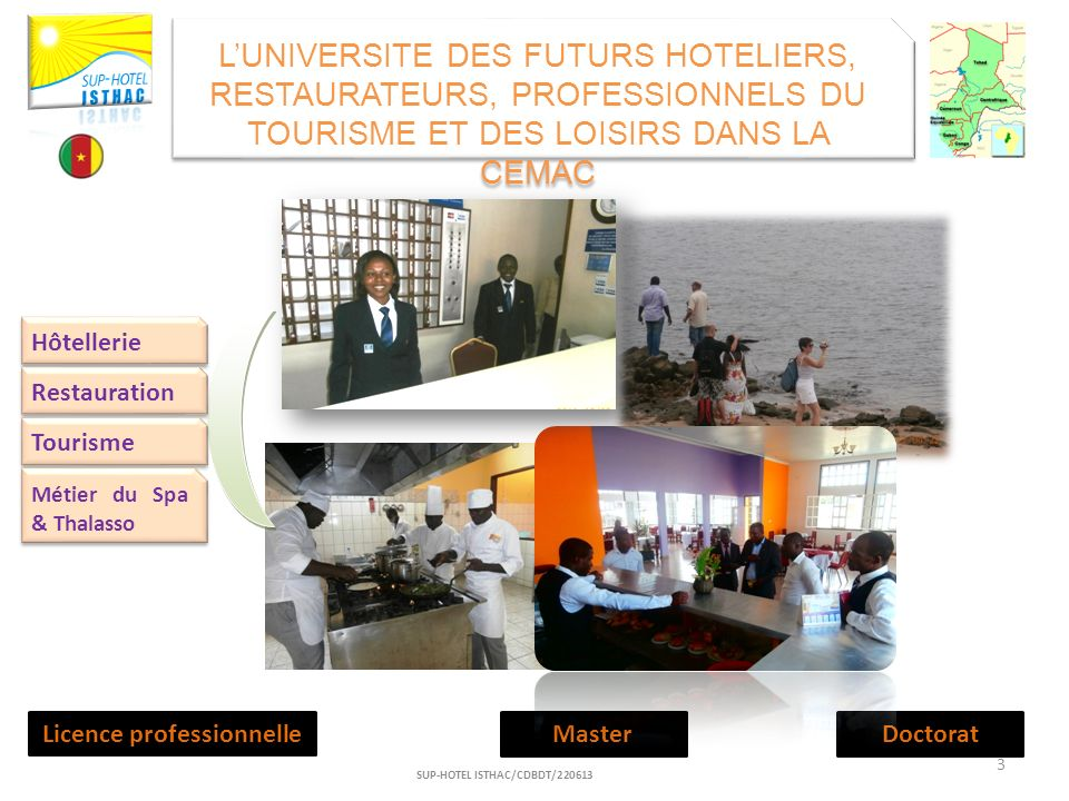 Licence professionnelle SUP-HOTEL ISTHAC/CDBDT/220613