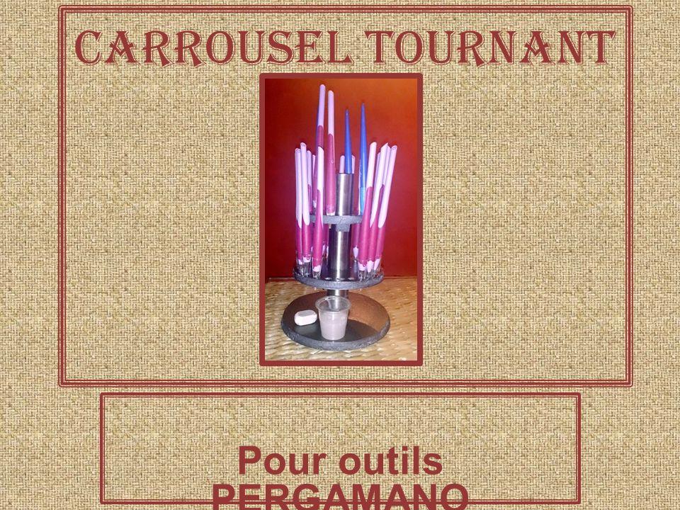 Carrousel tournant Pour outils PERGAMANO