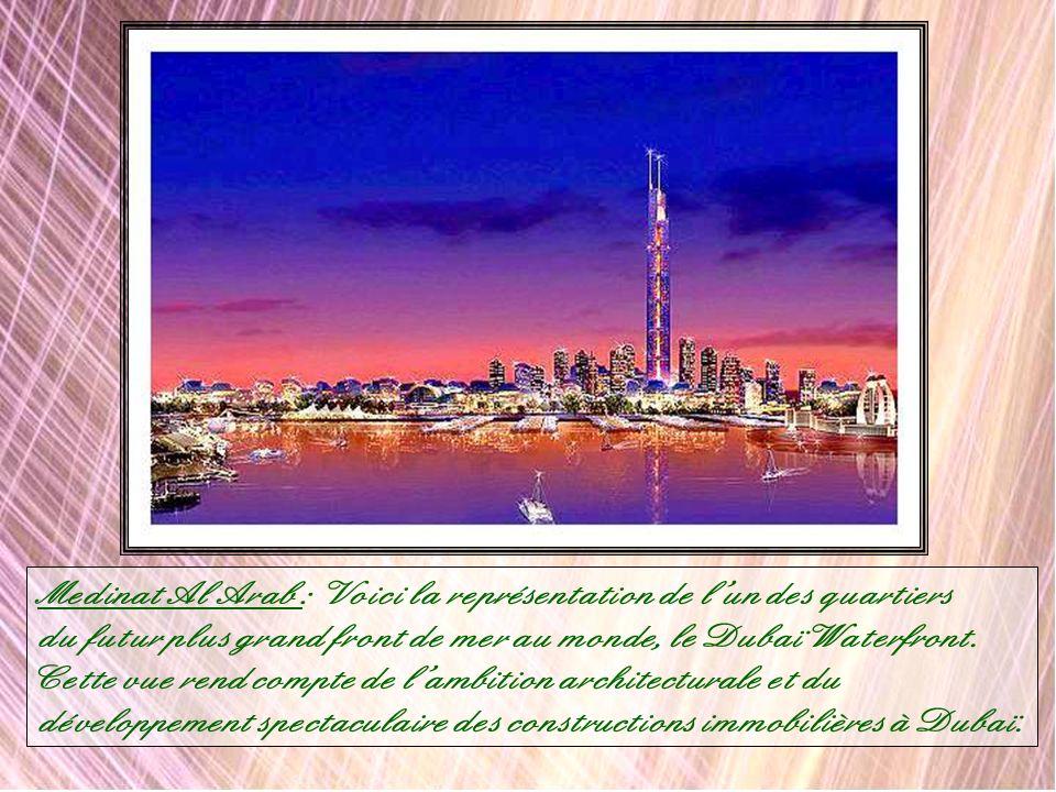 Medinat Al Arab : Voici la représentation de l'un des quartiers