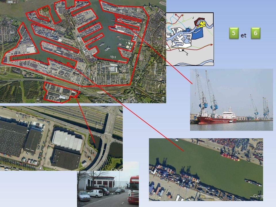 Nord 12 11 13 7 5 6 et Mer du Nord 13 14 11 Nieuwe Waterweg 8 5 9 9 6 9 2 km 10