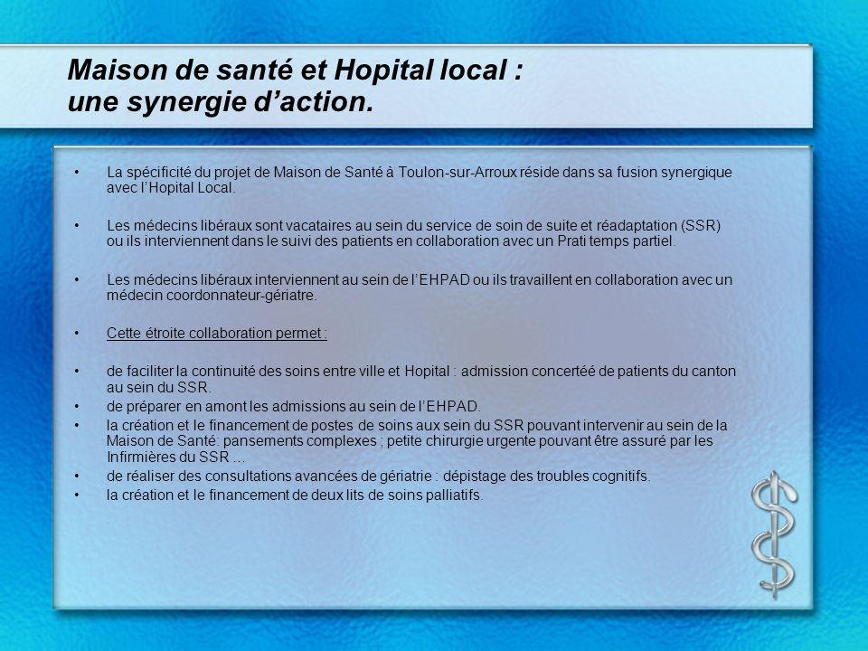 Maison de santé et Hopital local : une synergie d'action.