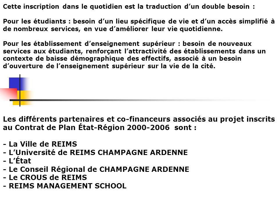 - L'Université de REIMS CHAMPAGNE ARDENNE - L'État