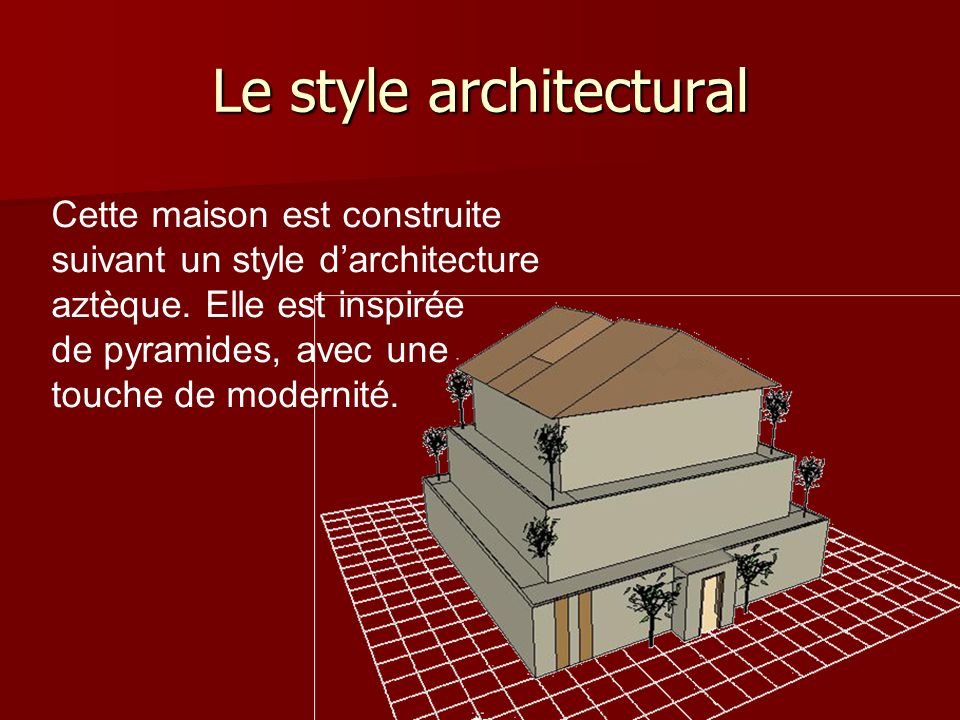Le style architectural