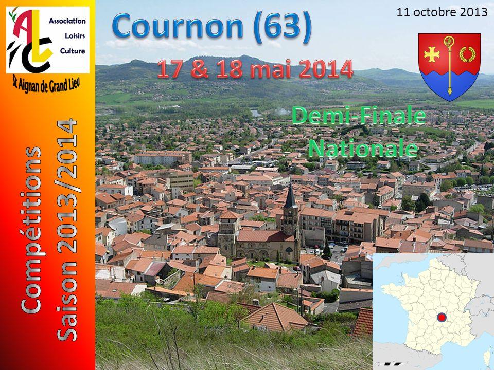 Cournon (63) Saison 2013/2014 Compétitions 17 & 18 mai 2014