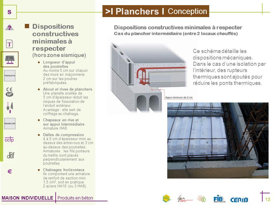 Conception Dispositions constructives minimales à respecter (hors zone sismique)