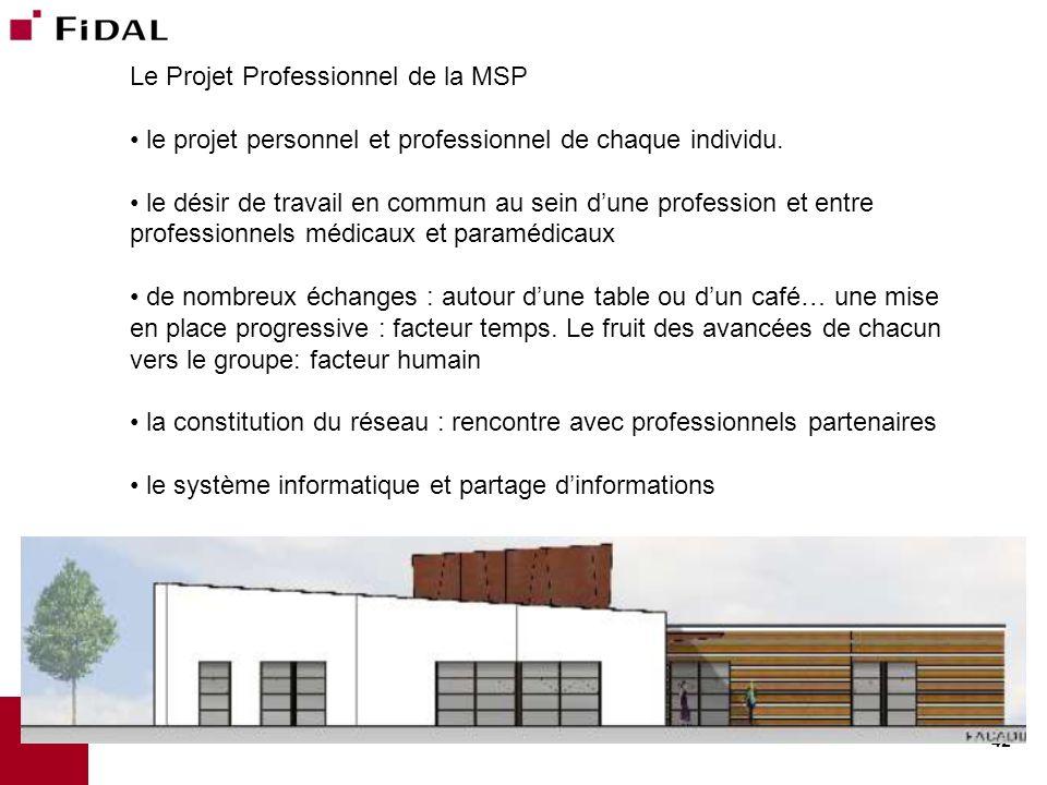 Le Projet Professionnel de la MSP