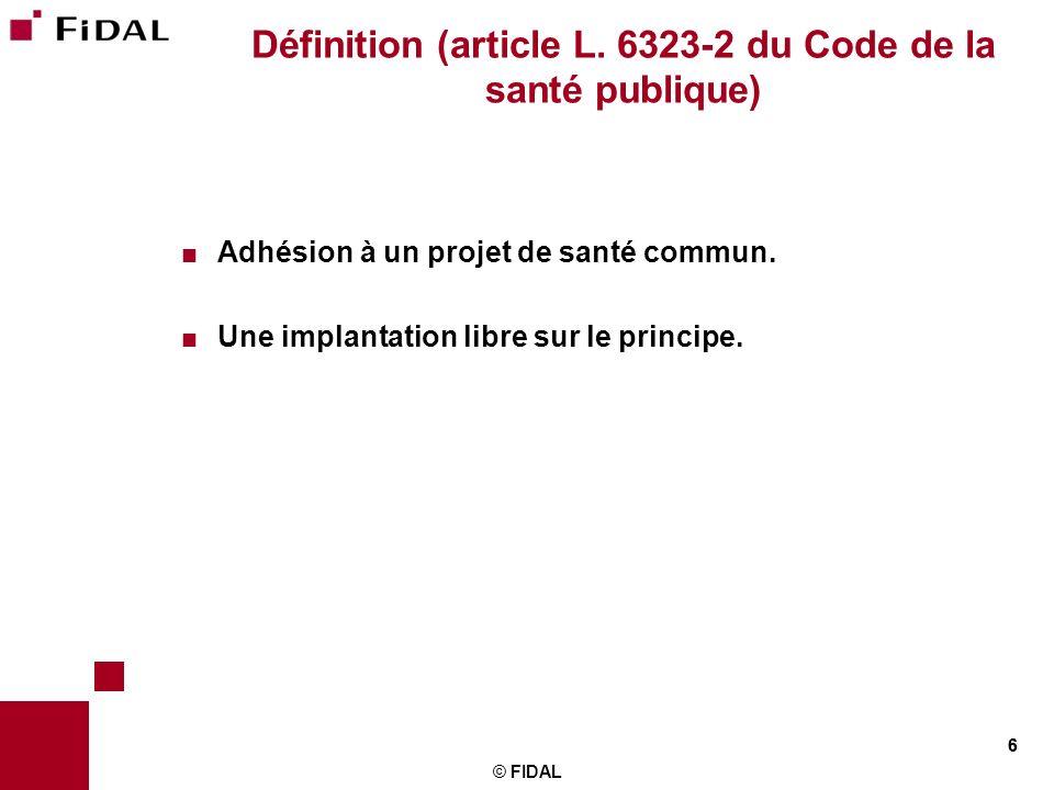 Définition (article L. 6323-2 du Code de la santé publique)