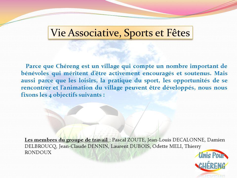 Vie Associative, Sports et Fêtes