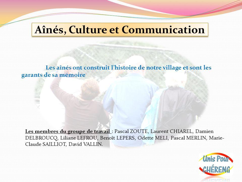 Aînés, Culture et Communication