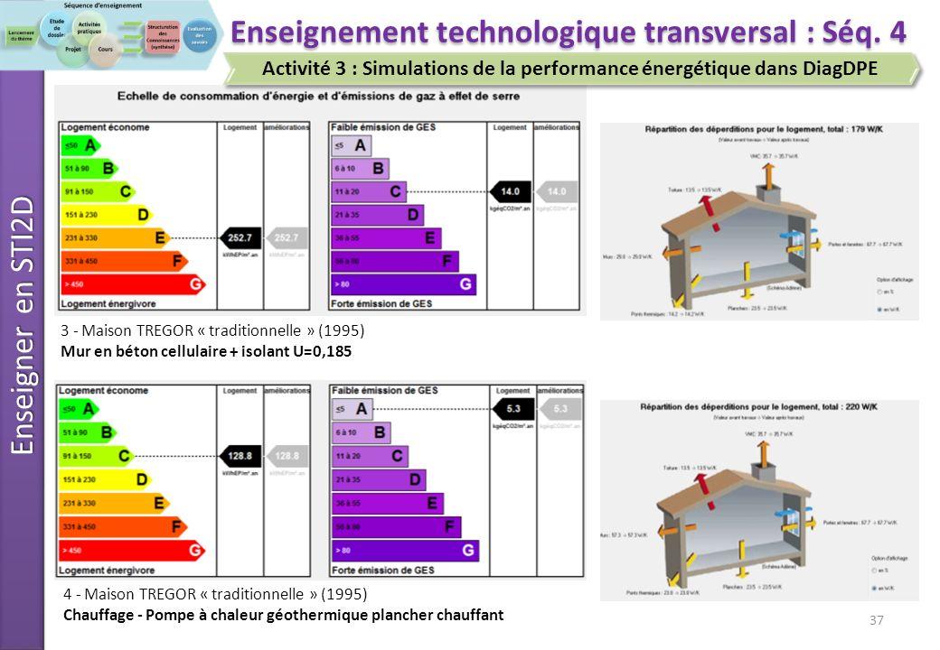 Enseignement technologique transversal : Séq. 4