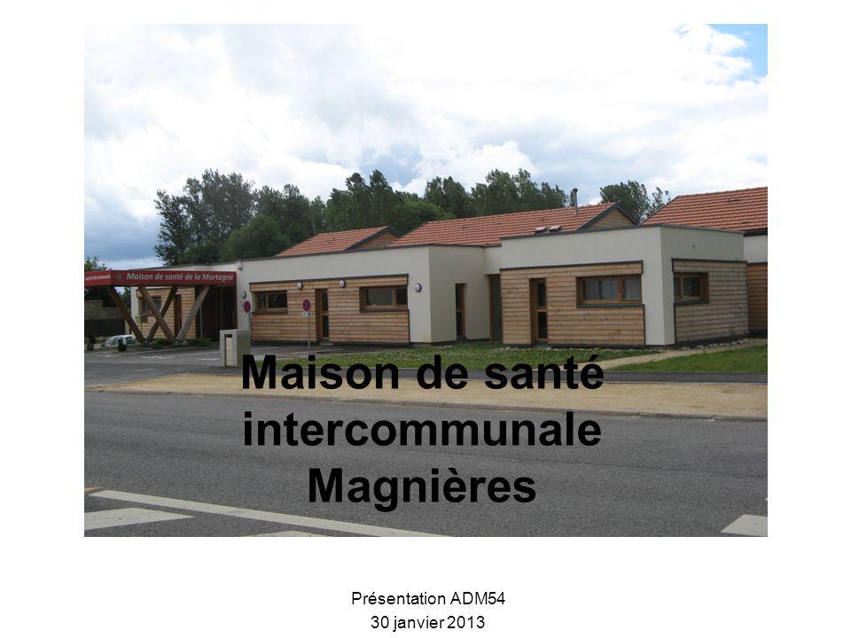 Maison de santé intercommunale Magnières